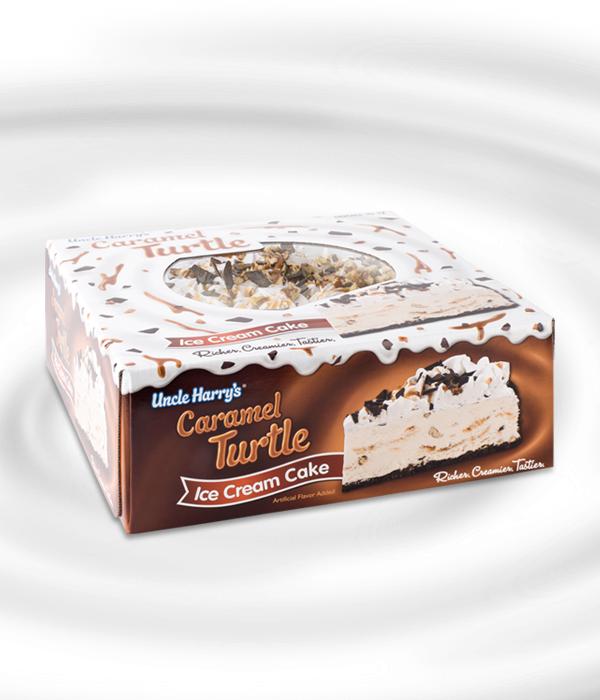 Turtle Ice Cream Cake additionally Turtle Ice Cream Cake 9 00 Pecans ...